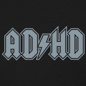 ADHD rock n' roll logo attention deficit disorder Women's T-Shirts - Women's T-Shirt