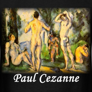 Cezanne - Bathers in Open Air - Men's T-Shirt
