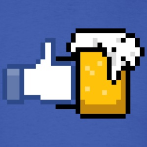 FACEBOOK LIKE BEER T-Shirts - Men's T-Shirt