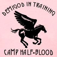 Design ~ Pegasus CAMP Half-Blood Women's T-Shirt