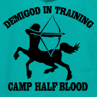 Design ~ DEMIGOD IN TRAINING Centaur Half-Blood Hoodie