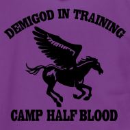 Design ~ DEMIGOD IN TRAINING Pegasus Half-Blood Hoodie