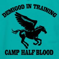 Design ~ DEMIGOD IN TRAINING Pegasus Half-Blood Hoodie