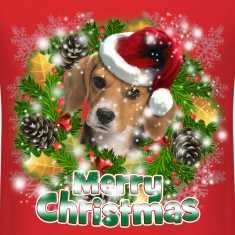 Merry Christmas Beagle T-Shirts