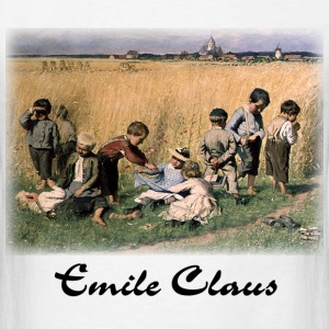 Emile Claus - On the Way to School  - Men's T-Shirt
