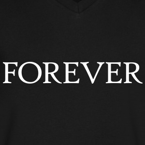 twilight forever T-Shirts - Men's V-Neck T-Shirt by Canvas