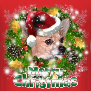 Merry Christmas Chihuahua T-Shirts - Men's T-Shirt