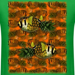 pppfff! Pineapple Puffer Phish - Men's T-Shirt