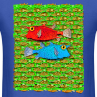 Design ~ red fish, blue fish, many fish