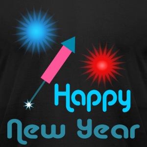 Happy New Year T-Shirts - Men's T-Shirt by American Apparel