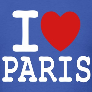 T-shirt i love Paris - Men's T-Shirt