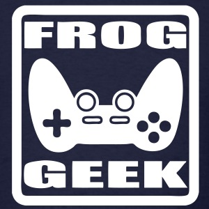 T-shirt frog geek - Men's T-Shirt