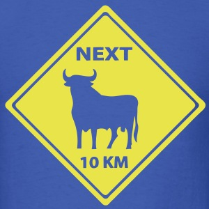 T-shirt roadsign buffalo - Men's T-Shirt