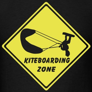 t-shirt kiteboarding zone - Men's T-Shirt