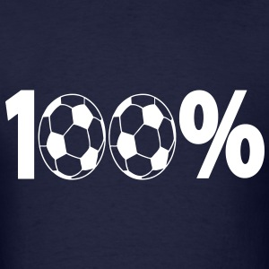T-shirt football 100 % foot - Men's T-Shirt