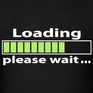 T-shirt geek loading please wait - Men's T-Shirt