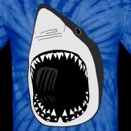 Design ~ animal t-shirt white shark jaws fish fishing diver scuba diving sharks