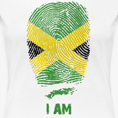 Fingerprint Jamaica Flag