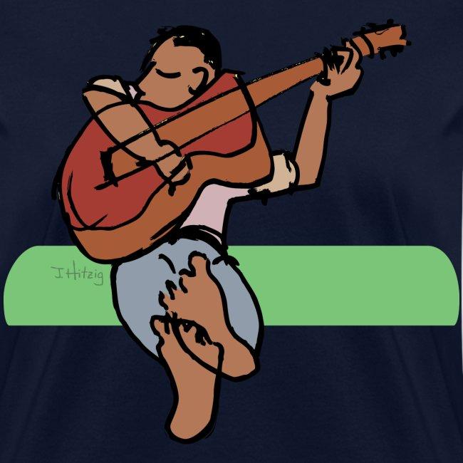 Guitar Player - women