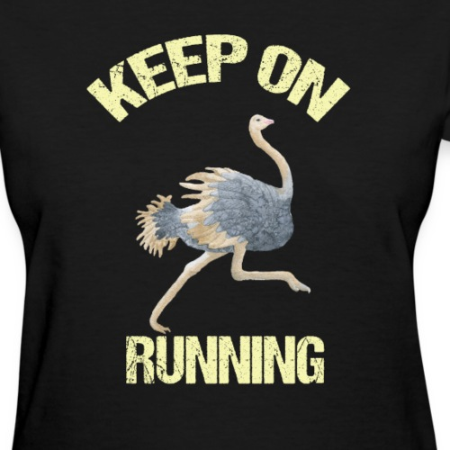 Keep On Running Ostrich