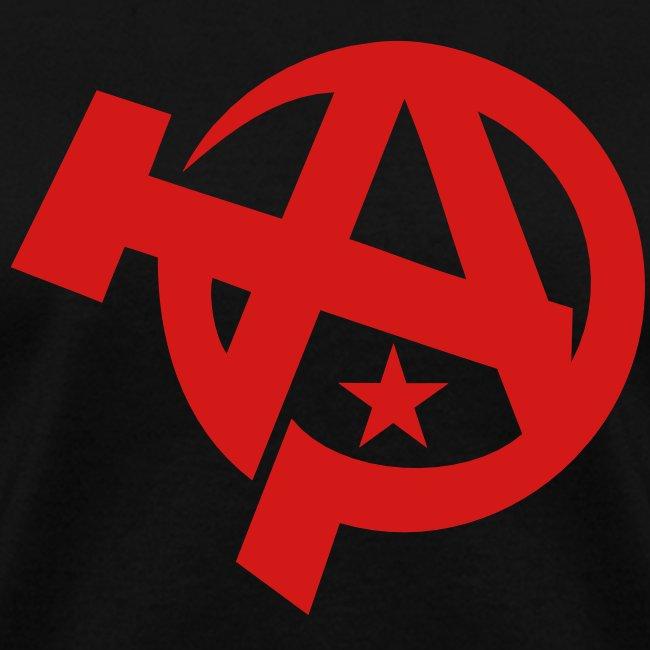 Anarcho-Communist Symbol Women's Tee Shirt