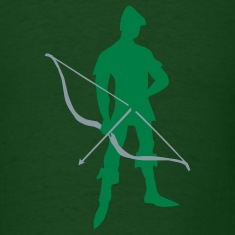 Archer Recurve Bow by patjila2 T-Shirts
