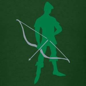 Archer Recurve Bow by patjila2 T-Shirts - Men's T-Shirt