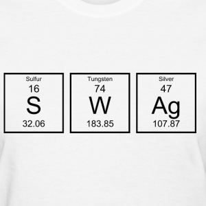 Periodic Table Swag Women's T-Shirts - Women's T-Shirt