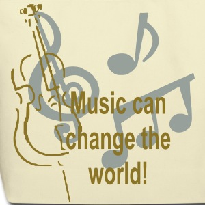Music can change the world Bags  - Eco-Friendly Cotton Tote