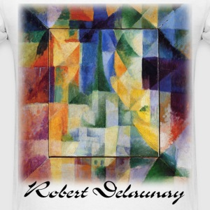 Delaunay - Simultaneous Windows  - Men's T-Shirt