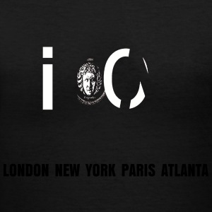Womens Icon 1 V Tee (Black Only) - Women's V-Neck T-Shirt