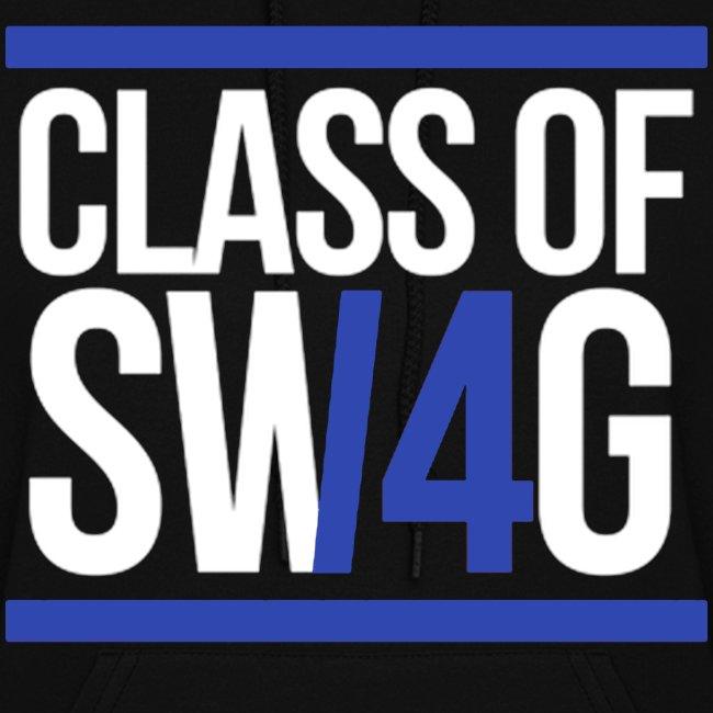 Class of Swag Blue Women