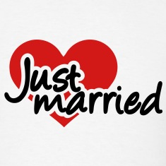 Just married T-Shirts