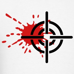 Crosshairs blood T-Shirts - Men's T-Shirt
