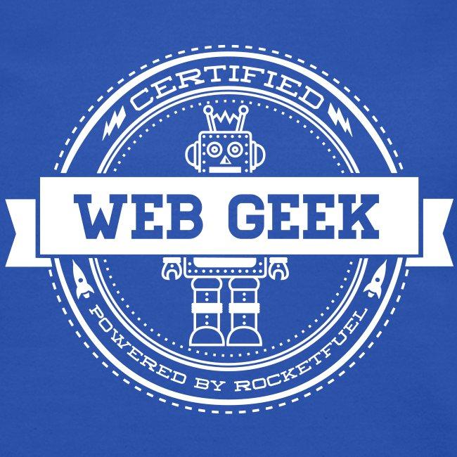 WebGeek Robot Men's Crewneck Sweatshirt