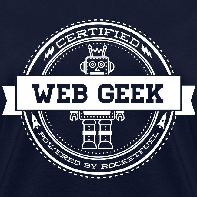 Web Geek Robot Women's T-Shirt by Gildan