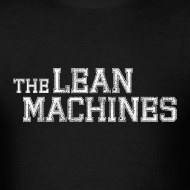 Design ~ The Lean Machines Men's T-Shirt - Black