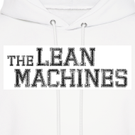 Design ~ The Lean Machines Men's Hoodie - White