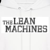 Design ~ The Lean Machines Men's Hoodie - White