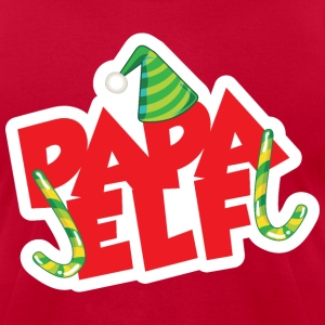 Papa Elf - Men's T-Shirt by American Apparel