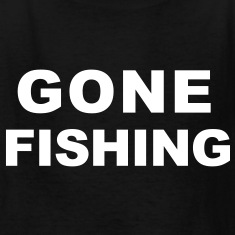 Gone Fishing Kids' Shirts