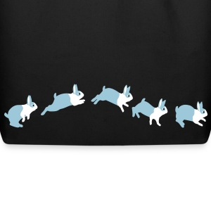 Rabbit jumps Bags  - Eco-Friendly Cotton Tote