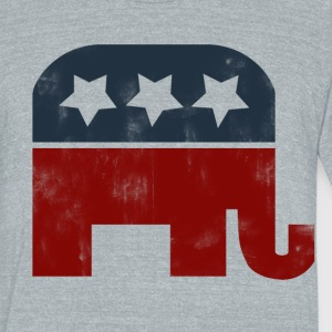 GOP Logo - Unisex Tri-Blend T-Shirt by American Apparel