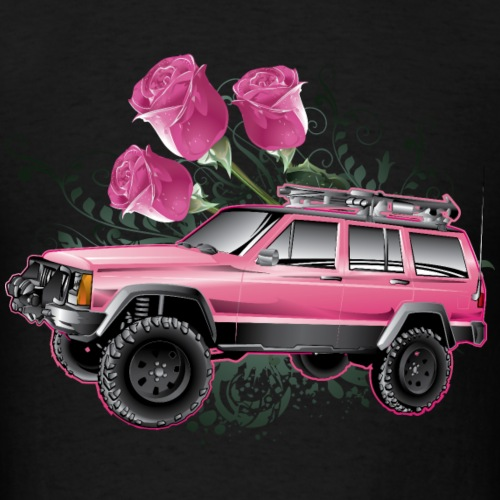 Cherokee Jeep Pink Rose