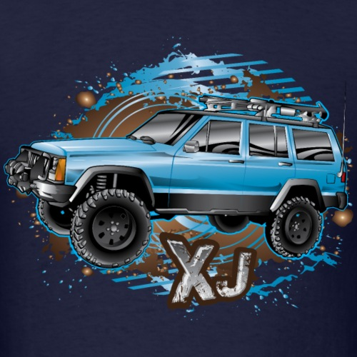 XJ Jeep Cherokee Blue
