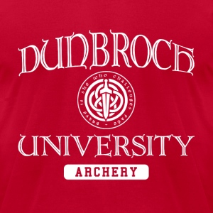DunBroch Archery (Men) - Men's T-Shirt by American Apparel