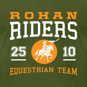 Rohan Riders (Men) - Men's T-Shirt by American Apparel