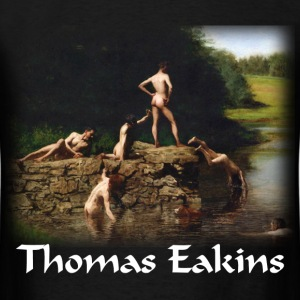 Eakins - The Swimming Hole - Men's T-Shirt