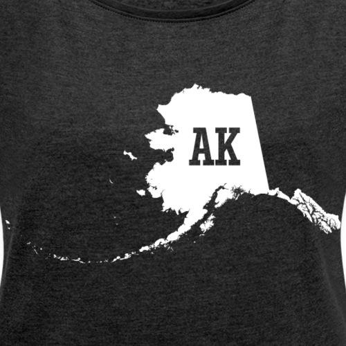 Alaska State Map AK