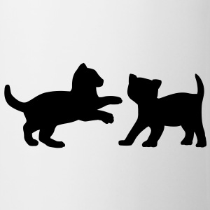 Two Kittens Playing Accessories - Coffee/Tea Mug